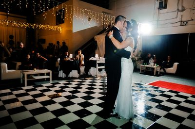 black-and-white-dance-floor