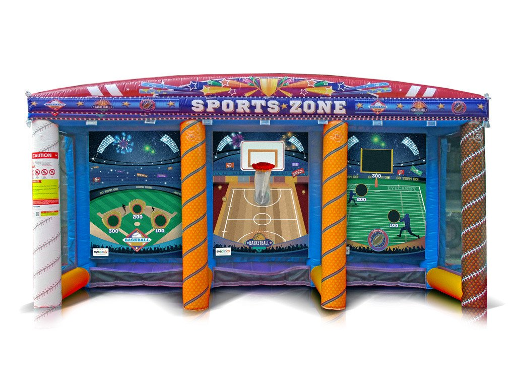 Citaten Sport Zone : Carnival sports zone game fun source