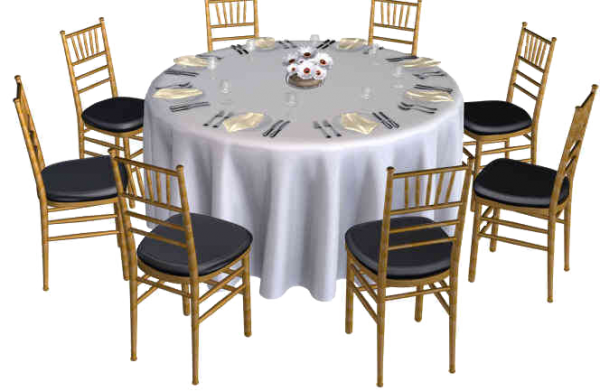 Dining Table Covers Transparent Tables 60 Quot Source  : table round 60 3 600x391 from honansantiques.com size 600 x 391 png 243kB