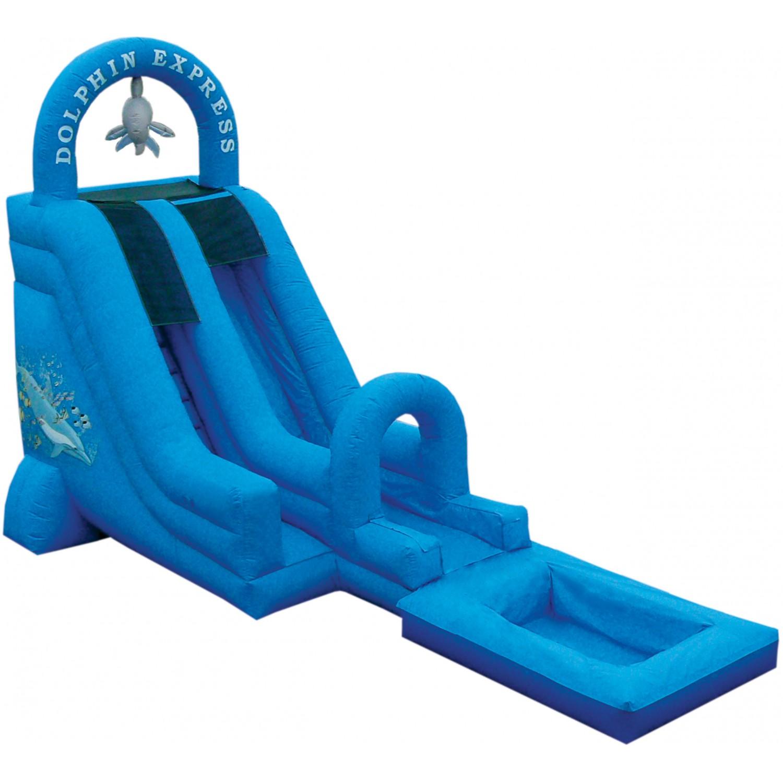 18 Dolphin Express Waterslide Fun Source Fun Source